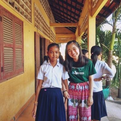 カンボジアで公衆衛生 神尾美奈